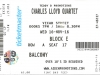Charles Lloyd Ticket