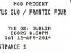 Status Quo Frantic Four Reunion Gig @ O2 Dublin,Status Quo Ticket