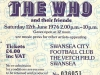 The Who @ Vetch Field, Swansea, 1976, The Who Ticket
