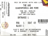 The Who Ticket , The Who O2 Dublin 2013