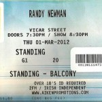 Randy Newman @ Vicar Street 01 March 2012