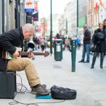Oil Can Bluesman Grafton St Dublin