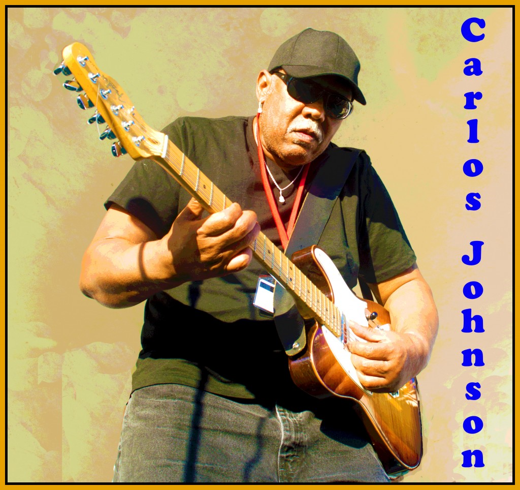 Carlos Johnson Chicago Bluesman
