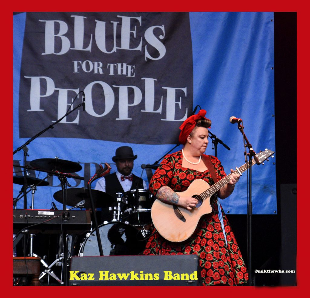 Mik the whos artistic contemplations kaz hawkins band live in belgium malvernweather Images