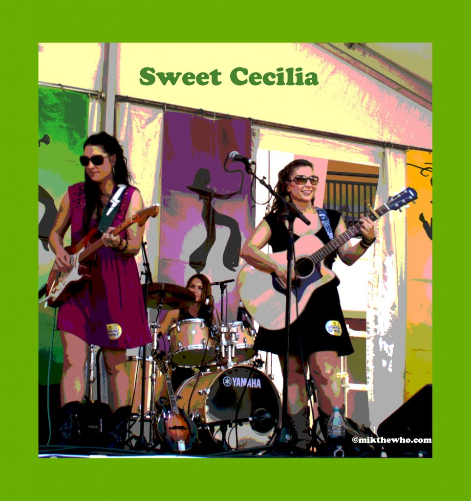 Mik the whos artistic contemplations sweet cecilia live new orleans jazz festival malvernweather Images